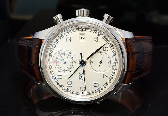 IWC 2015 Portugieser ChronoGraph, IW390403, Box & Papers