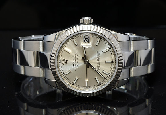 ROLEX 2012 Dayejust 31, Steel, 178274, Box & Papers
