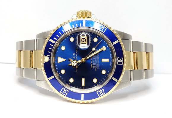 ROLEX 1991 Submariner, 16613, Steel & Gold, Boxed