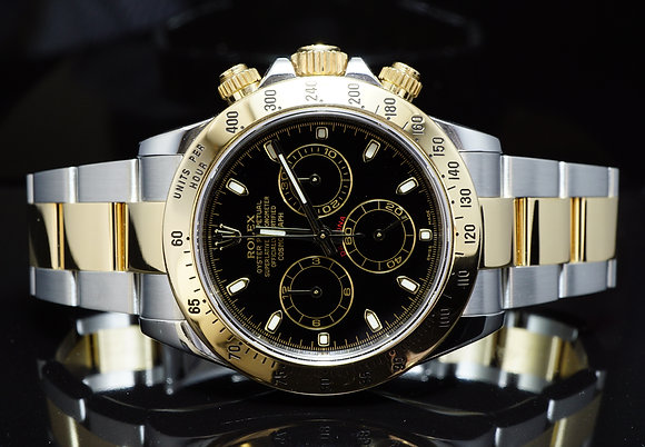 ROLEX 2013 Daytona, Steel & Gold, 116523, MINT, Box & Papers