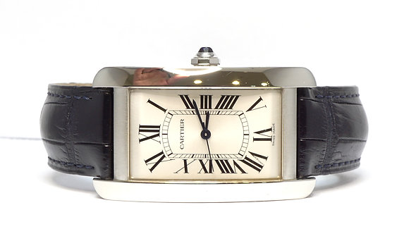 CARTIER Tank Americaine, WTSA0018, Steel, Auto, 3972, Latest Model