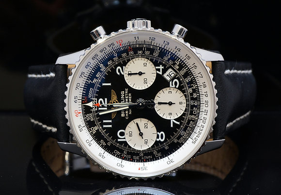 BREITLING 2007 Navitimer Chronograph, MINT, A23322, Box & Papers