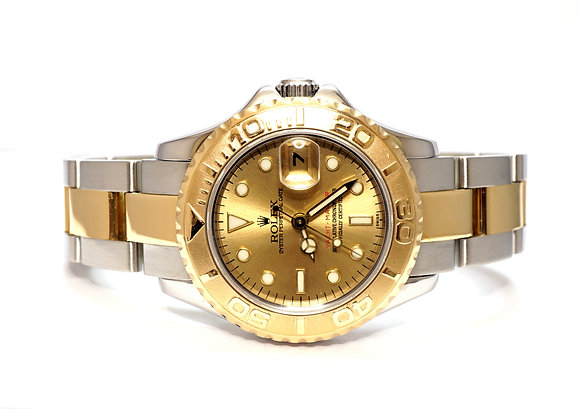 ROLEX 2003 Yacht-Master 29, 169623, Steel & Gold, Box & Papers