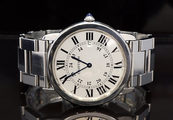 CARTIER Ronde Solo, Quartz, Steel
