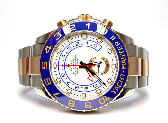 ROLEX 2015 Yacht-Master II, 116681, Steel & Rose Gold, Box & Papers