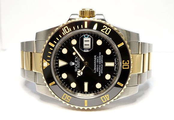 ROLEX 2011 Submariner, 116613LN, Steel & Gold, Box & Papers