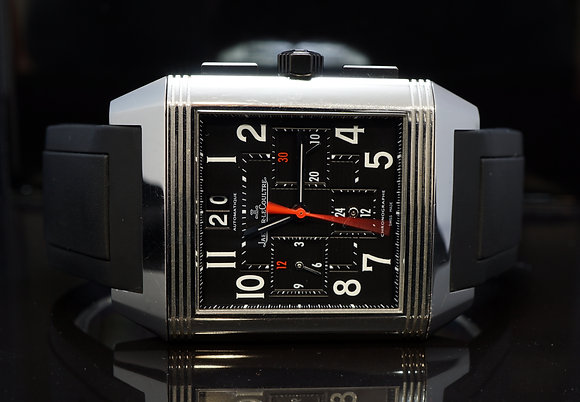JAEGER LECOULTRE 2010 Squadra Reverso GMT, 230.8.45, Box & Papers