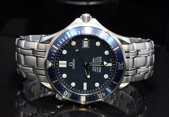 OMEGA 2006 Seamaster 41mm, 25318000, Auto, Serviced, Box & Papers