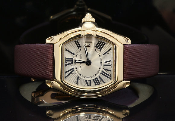 CARTIER Ladies 18ct Yellow Gold Roadster, MINT