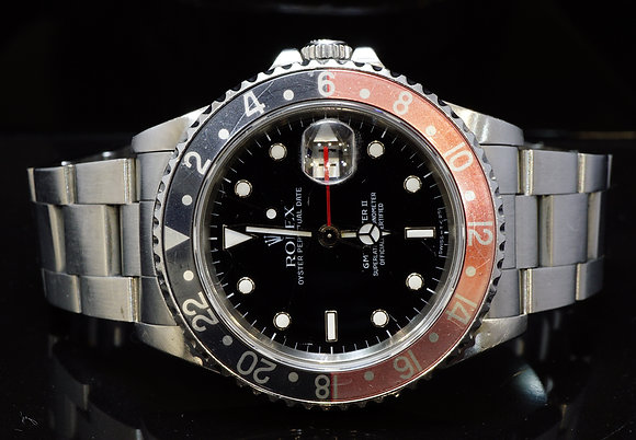 ROLEX 1990 GMT Master 2, Un-Restored, 16710, Box & Papers