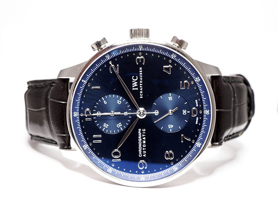 IWC 2019 Portugieser Chronograph, IW371491, MINT, Box & Papers