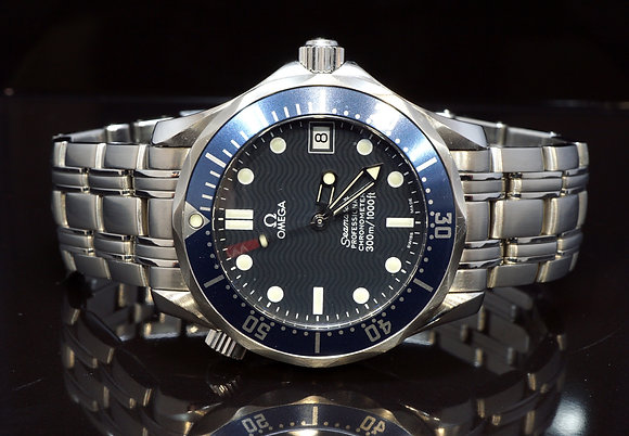 OMEGA 2007 36mm Seamaster 300m, 25518000, Box & Papers