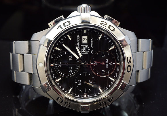 TAG HEUER 2013 Aquaracer Chrono, Steel, Auto, CAP2110, Box & Papers