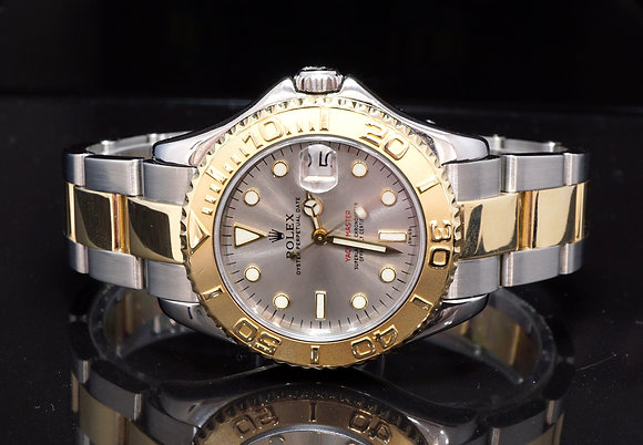 ROLEX 1999 Yacht-Master 35, Steel & Gold, 68623, Box & Papers