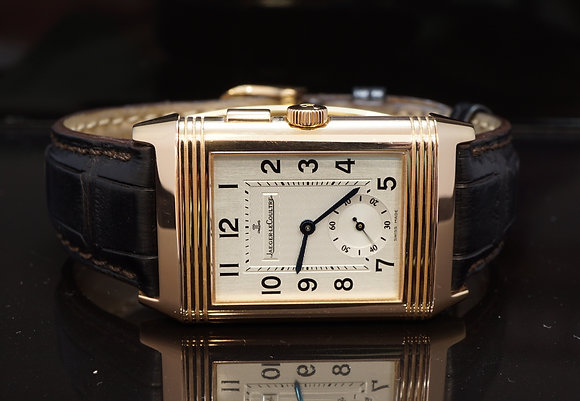 JLC 2010 Reverso Night & Day, Duotime, 271.24.10, Box & Papers