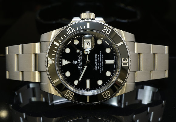ROLEX 2013 Submariner, Steel, MINT, Box & Papers