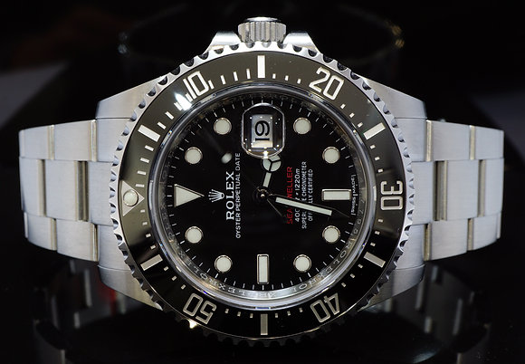 ROLEX 2017 43mm Sea-Dweller, UNWORN, 126600, Box & Papers