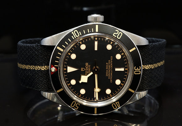 TUDOR 2019 Black Bay Fifty-Eight, 79030n, Nato, Box & Papers