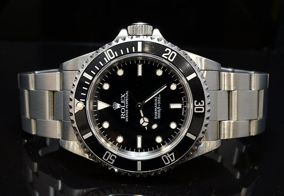 ROLEX 1997 Submariner Non Date, 14060, MINT, Tritium Dial, Box & Papers