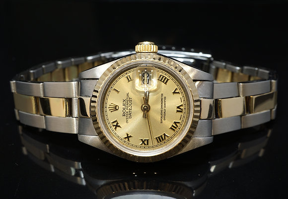 ROLEX 1984 26mm Datejust, Steel & Gold, 69173, Just Fully Serviced