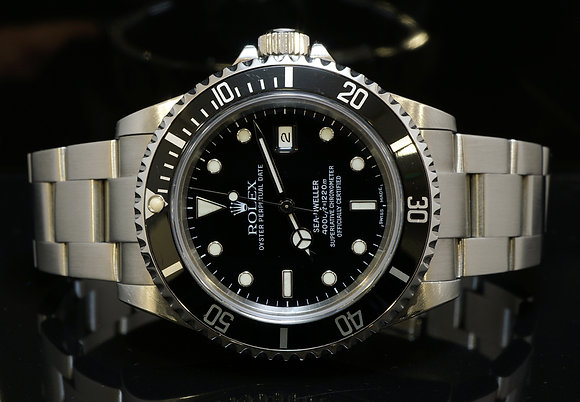 ROLEX 2001 Sea-Dweller, MINT, Box, Papers & Complete Tool Kit