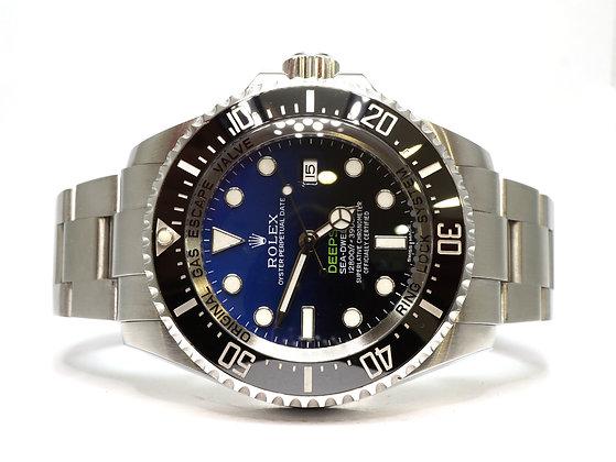 ROLEX 2015 Deepsea James Cameron, 116660, D-Blue, Box & Papers