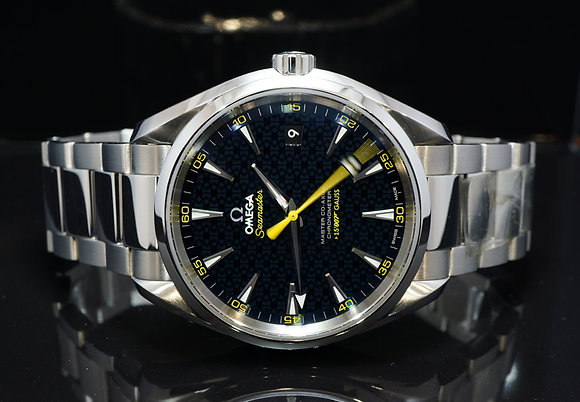 "OMEGA 2016 Aqua Terra ""Spectre"" 007, 23110422103004, Box & Papers"