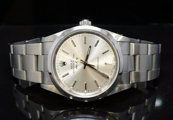 ROLEX 2003 Air-King, Steel, 14000m, 34mm Case, Boxed