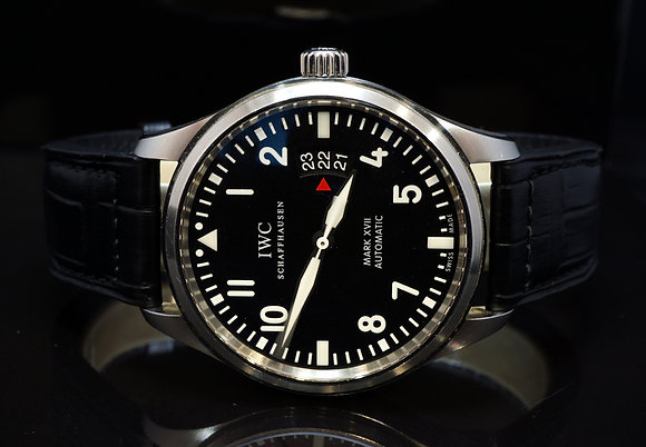 IWC 2012 Pilot Mark XVII Fliegeruhr Auto, IW326501, Box & Papers