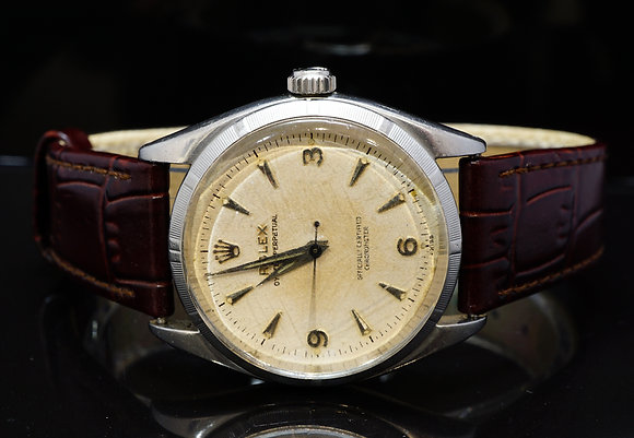 ROLEX 1958 Oyster Perpetual, 6565, Serviced,Unpolished