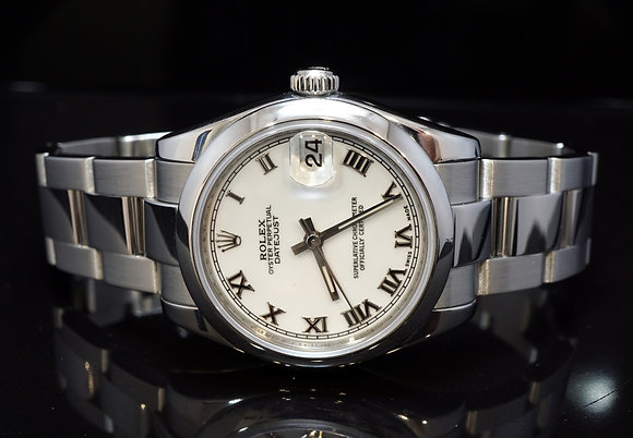 ROLEX 2007 31mm Datejust, Steel, 178240, Box & Papers