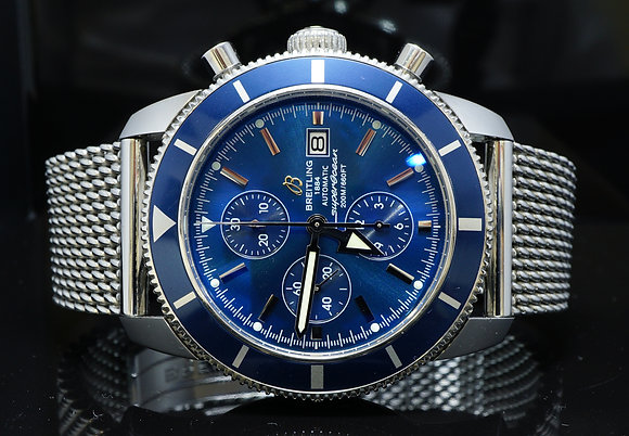 BREITLING 2008 Superocean Heritage, A1332016, MINT, Box & Papers