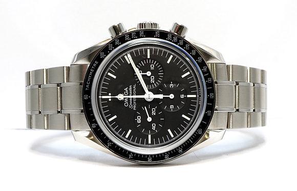 OMEGA 2020 Moonwatch. 31130423001006, UNWORN, Box & Papers