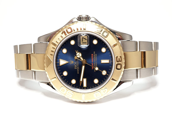 ROLEX 2001 Yacht-Master 35, 168623, Steel & Gold, 35mm, Midi, Box & Papers