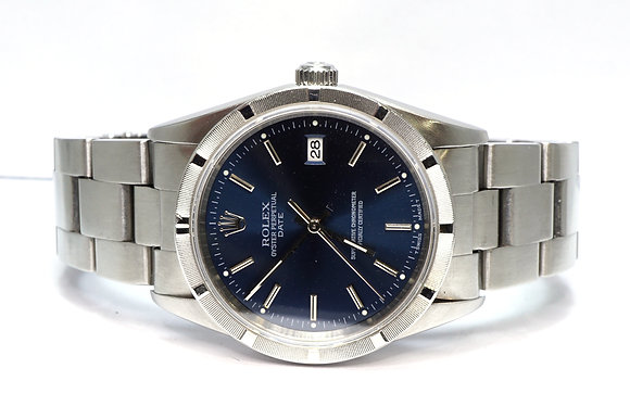 ROLEX 1997 Oyster Perpetual Date 34, 15210, Serviced Nov 2020, Box & Papers