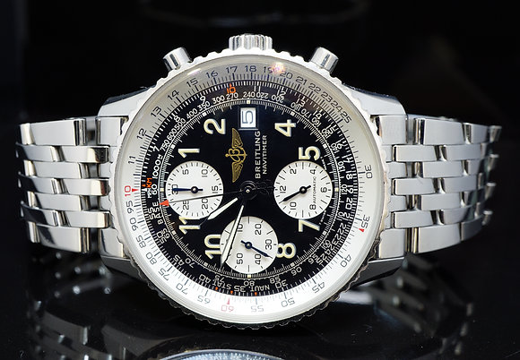 BREITLING Old Navitimer II, Steel, A13022, MINT, Boxed