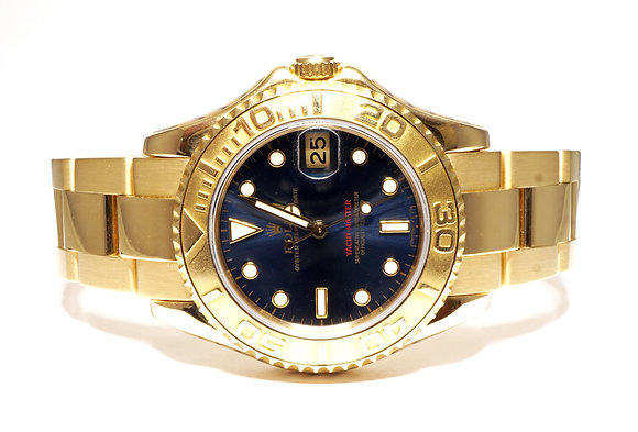 ROLEX 1996 Yacht-Master 35, 68628, 18ct Gold, Serviced by Rolex, Boxed