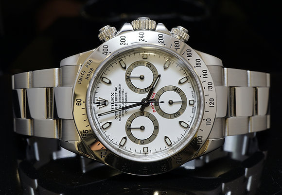 ROLEX 2003 Daytona, Stainless Steel, 116520, MINT, Box & Papers
