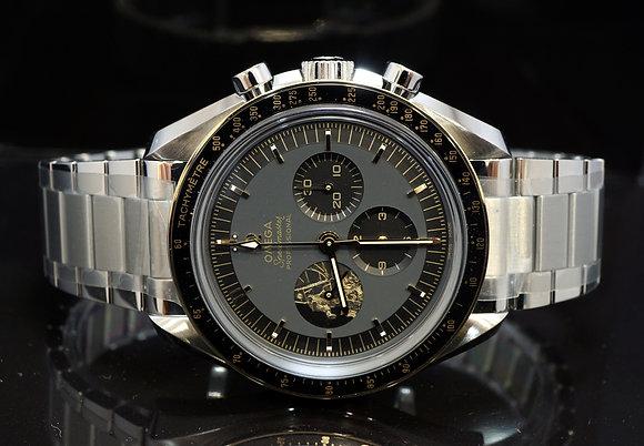 OMEGA 2020 Speedmaster Apollo 11 50th Anniversary, Unworn, 31020525001001, B&P
