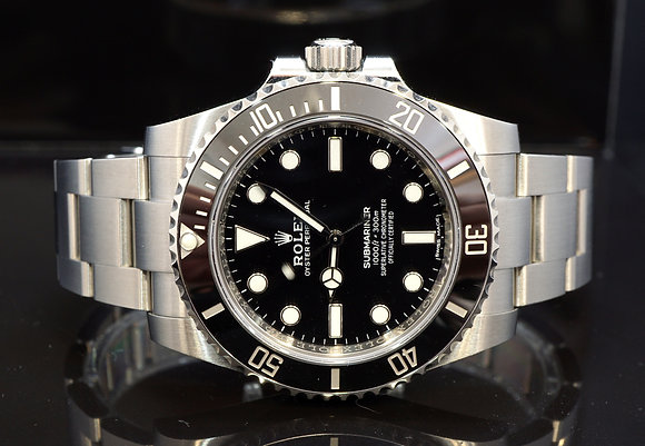 ROLEX 2018 Submariner Non Date, 114060, MINT, Box & Papers