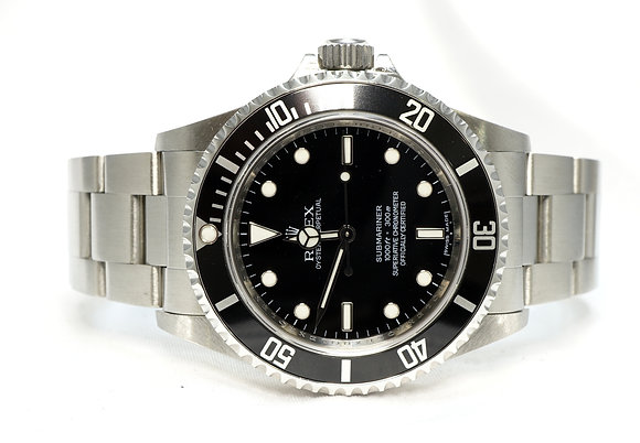 ROLEX 2010 Submariner Non date, 14060m, 4 Line Dial, MINT, Box & Papers