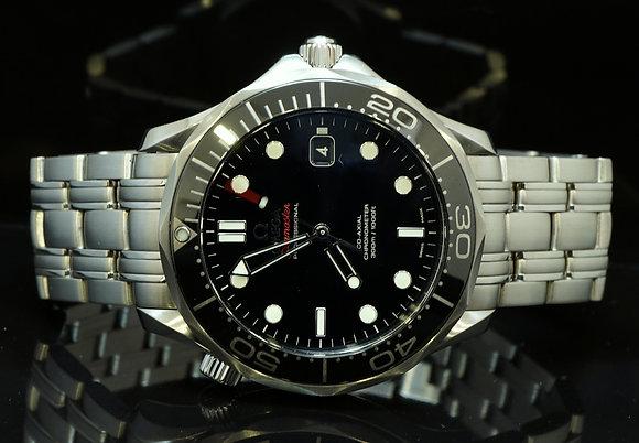 OMEGA 2012 Seamaster 300m, Ceramic Bezel, 21230412001003, B & P