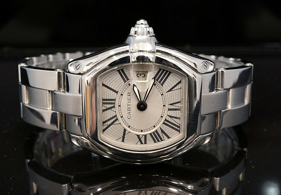 CARTIER 2012 Roadster Ladies, W62016V3, Quartz, with Papers
