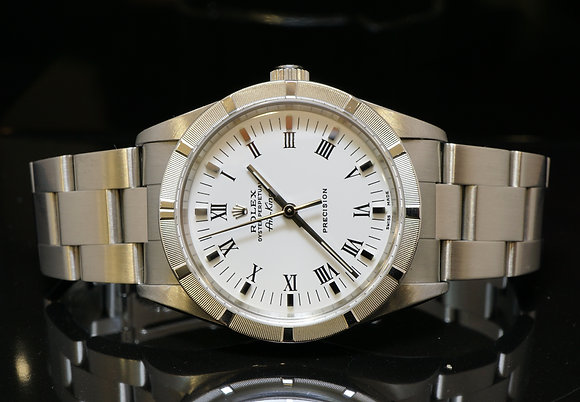 ROLEX 2001 Air-King, Steel, 14010M, MINT, Box & Papers
