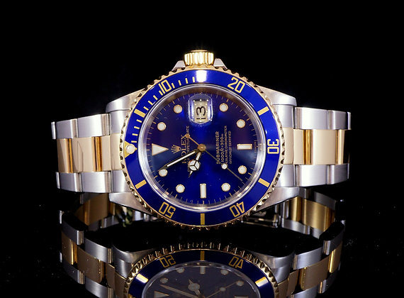 ROLEX 1998 Submariner, Steel & Gold, 16613, MINT, Box & Papers