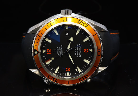 OMEGA 2008 45.5mm Planet Ocean, 29085082, Box & Papers