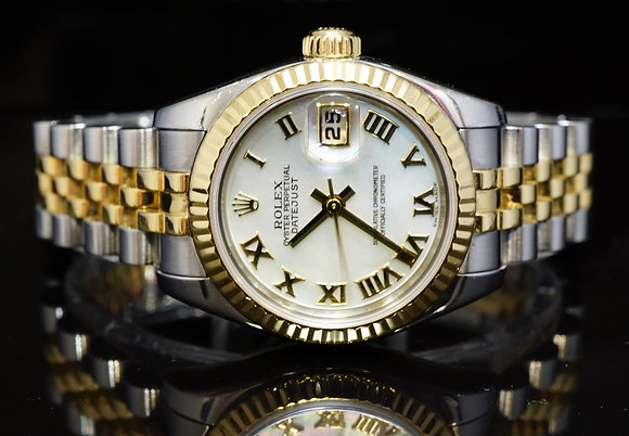 ROLEX 2004 26mm Datejust, Steel & Gold, 179173, Boxed