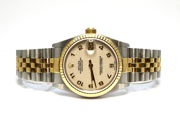 ROLEX 2003 Datejust 31, 78273, Steel & Gold, Jubilee Dial, Boxed