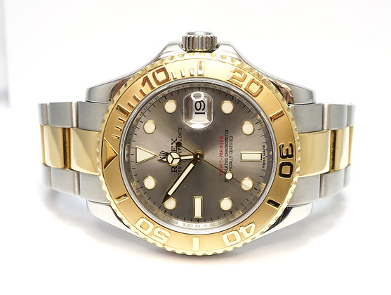 ROLEX 2008 Yacht-Master 40, 16623, Steel & Gold, Service History, Box & Papers