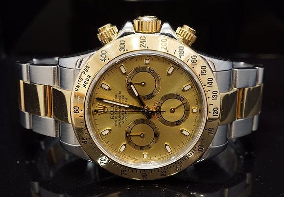 ROLEX 2007 Daytona, Steel & Gold, 116523, Box & Papers